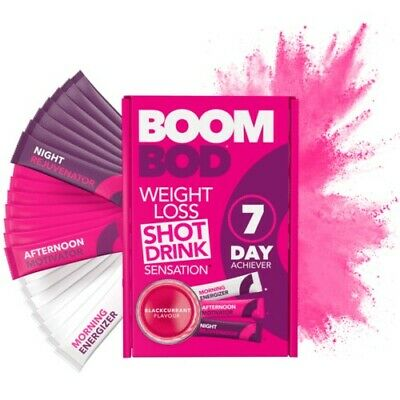 BOOMBOD 7 Day Achiever 21 Sachets / BOOM BOD / CHEAPEST ON EBAY! / FREE POSTAGE