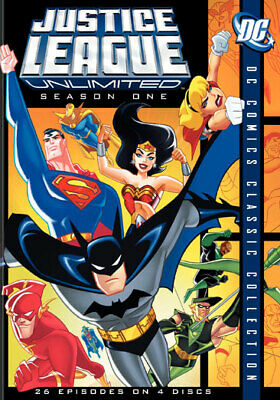 Warner Home Video D81649D Justice League Unlimited-Complete 1St Season (Dvd/W...
