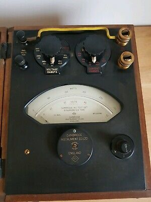 Vintage Cambridge Instruments AC Test Set – Dynamometer Type - Great Condition