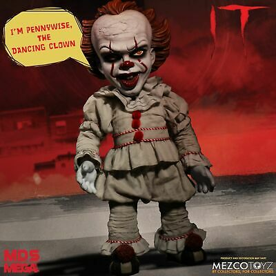 IT 2017 Mega Scale Talking Pennywise Figure Mezco