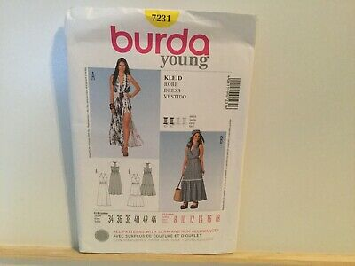 Burda Young sewing pattern 7231 🌟PreOwned🌟Unsealed🌟Uncut🌟Unused🌟