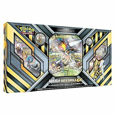 SEHR GUT: Pokemon TCG Mega Bibor Ex Premium-Collection Kartenspiel Sammelkarten