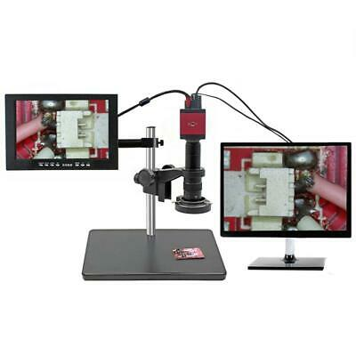 14MP 1080P HD HDMI VGA Digital Industry Video Inspection Microscope Camera Set