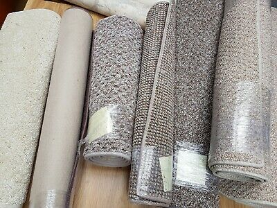 Bundle Of 7 Beige Rugs, All Good Quality Carpet Brand New 70% Off #116