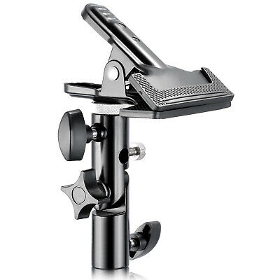 "Neewer Metal Clamp Holder with 5/8"" Light Stand Attachment for Reflector"