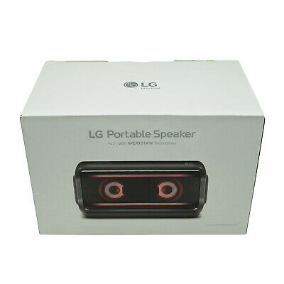 LG PK7 XBoom Go Water Resistant Wireless Bluetooth Party Speaker | Black