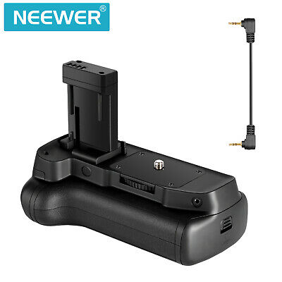Neewer Vertical Battery Grip Hold 2PCS LP-E10 Li-ion Battery for Canon EOS 1300D