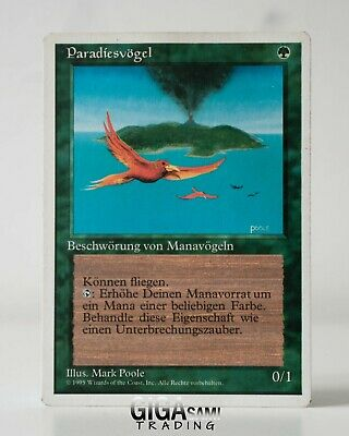 Birds of Paradise / Paradiesvögel | Limited Edition 4th 5th MtG | NM | ENG GER