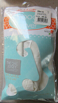 Leachco Snoogle The Chic Jersey Body Pillow Replacement Cover with Zipper