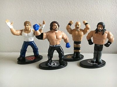 WWE Mattel COMPLETE SET Retro Figure Series 3 LOOSE Styles/Goldberg/Rollins/Dean