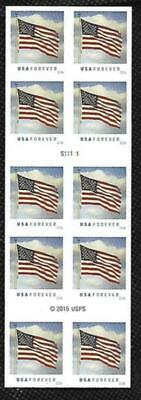 SCOTT 5054a FOREVER (49 CENT)  FLAG S11111 BOOKLET PANE OF 10 MNH FREE SHIPPING