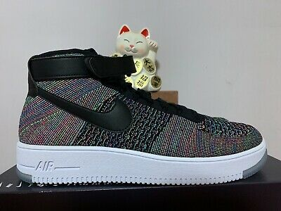 save off 4e0fa a8e4e Nike AF1 Air Force Ultra Flyknit Mid Multi Color New Men s 13  817420-601