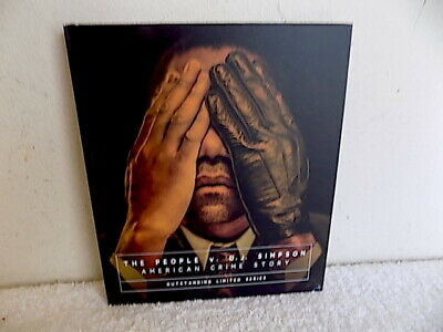 The People V. O.j. Simpson American Crime Story Dvd Complete 10 Eps  Fyc