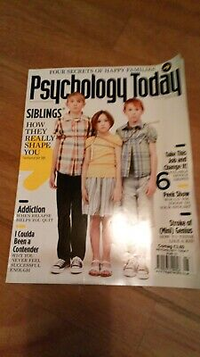 Psychology today magazine-August 2010