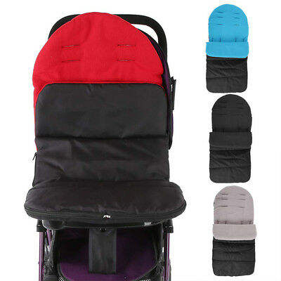 Winter Thick Warm Wheelchair Kids Stroller Sleeping Bag Foot Cover Pram New QP