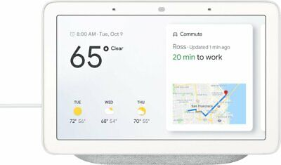 Google Home Hub w/Google Assistant - Chalk NEW & ORIGINAL FREE US SHIPPING