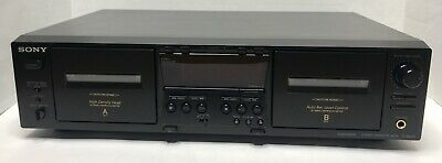 Sony Dual Stereo Cassette Tape Deck Player Recorder Tc-We475 High Speed Dubbing