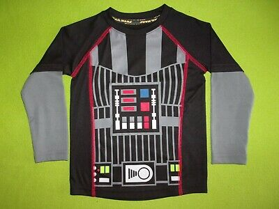 Star Wars Darth Vader Costume Cosplay Longsleeve T Shirt Boys Toddler 3T
