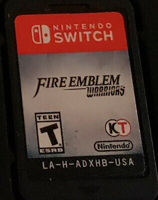 Fire Emblem Warriors (Nintendo Switch, 2017) Game Cartridge only