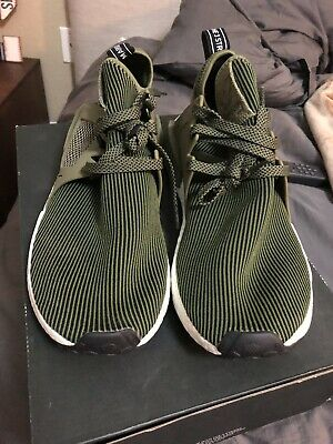 low priced 903ef 83735 Adidas NMD XR1 PK Primeknit Olive Green Size 12.5. .Ultra Boost r1.
