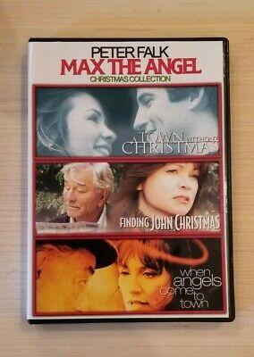 Finding John Christmas.Max The Angel Christmas Collection New 3 Dvd Peter Falk A