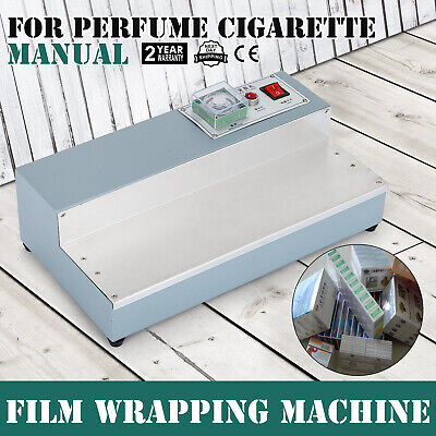220V Cigarette Perfume Box Cellophane Wrapping Machine Package Efficient US