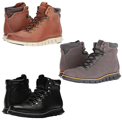 c2474166ce6 COLE HAAN ZEROGRAND Hiking Boot Womens Black Patent Leather Sheep ...