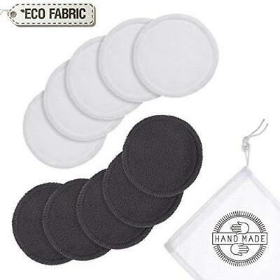 Reusable bamboo make-up remover pads Facial/Eye/Nails/Baby care organic cleaning