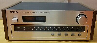 TESTED WORKING Sony ST-2950SD FM Stereo FM-AM Tuner LIGHTS WORK