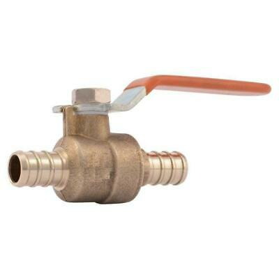 "PEX Ball Valve 1/2"" x 1/2"" inch full port Brass - Lead Free 5 pcs / Brass / 0.5"