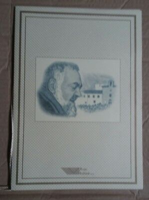 Italia 1999 Folder Padre Pio Beato