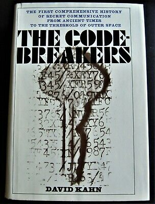 THE CODEBREAKERS by DAVID KAHN first edition 1967 cryptology/secret intelligence