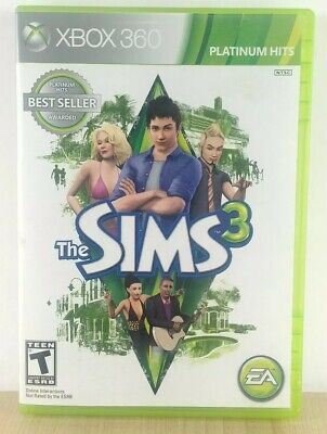 The Sims 3 (Microsoft Xbox 360, 2010) Works, Tested - VGC