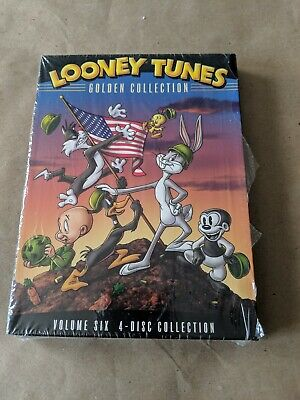 Looney Tunes - Golden Collection Vol. 6 (DVD, 2008, 4-Disc Set)