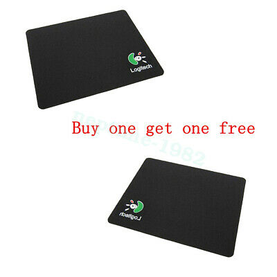 Mouse Mat Pad High Quality 1.5mm Thick Non Slip Foam 220 x 180 Edge Black Fabric