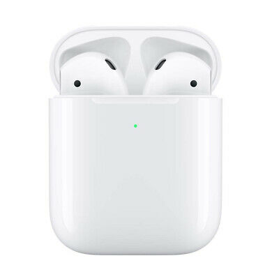 AirPods 2nd Generation with Wireless Charging Case Bluetooth Earphones