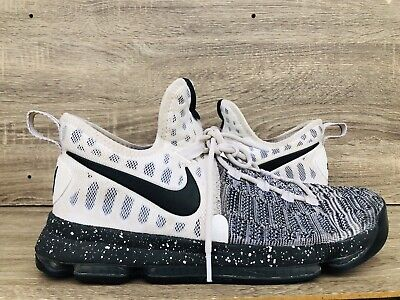 best service 3ff11 cc52d KEVIN DURANT Shoes Mens Nike Zoom KD 9 Basketball Oreo White   Black SIZE 11