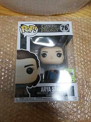 Funko Pop! Game Of Thrones Arya Stark #76 ECCC 2019 Exclusive BoxLunch!!!