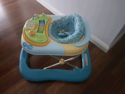 Baby walker in really good condition.  Blue color, smoke free home.