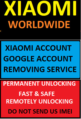 Xiaomi Account Google Account Removing Fast Service