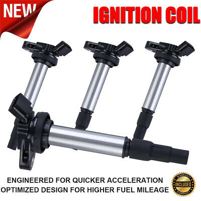Set Of 4 Ignition Coils For Toyota Corolla Prius 1.8L L4 C1714 UF-596 UF-619