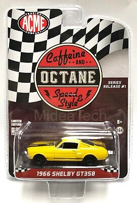 1966 Ford Mustang GT350 Caffeine /& Octane 1:64 PRE-ORDER ACME Exclusive LE MIP