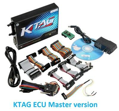 KTAG ECU Master version Car Re-Mapping business Toolkit latest 2018. V7.020