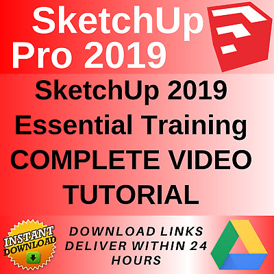MASTERING SKETCHUP 2017 Video Training Tutorials of 6