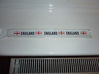 ENGLAND SLAP RULER / Wristband 30cm/12Inch New & Sealed Package