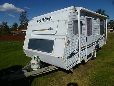 Caravan Traveller 16' Pop Top 2002 Excellent Condition