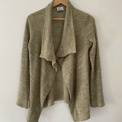 Ripe Maternity Australia Wrap Wool Blend Cardigan Pin Size M