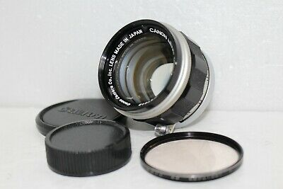 [Excellent+5]Canon M39 L39 LTM Leica Screw Mount 50mm f1.4 Lens f/s from Japan