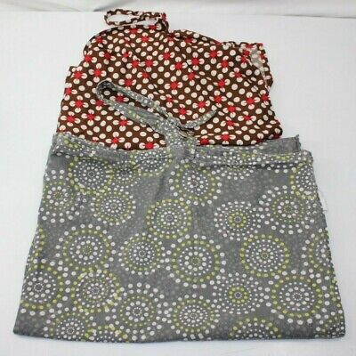 ZENOFF NURSING COVER Gray Starburst Large w Pocket and Udder Covers Nursng Cover