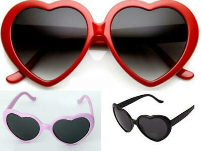 Baby Girls Kids Lovely Love Heart Style UV400 Sun glasses Sunglasses Eyes Wear